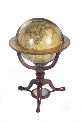 Pair of Globes: Cary's New Terrestrial Globe, delineated from the best authorities extant. Exhibiting the late discoveries towards the North Pole and every improvement in Geography to the present time. [&] Cary's New Celestial Globe on which are correctly laid down upwards of 3,500 stars. Selected from the most accurate observations and calculated for the year 1800. With the extent of each Constellation precisely defined by Mr. Gilpin of the Royal Society.